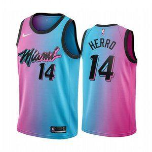 ♬⚽2021 Miami  Heat Tyler Herro City Edition